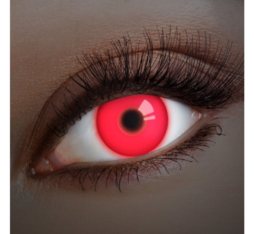 UV Red Colorlens | annual lenses