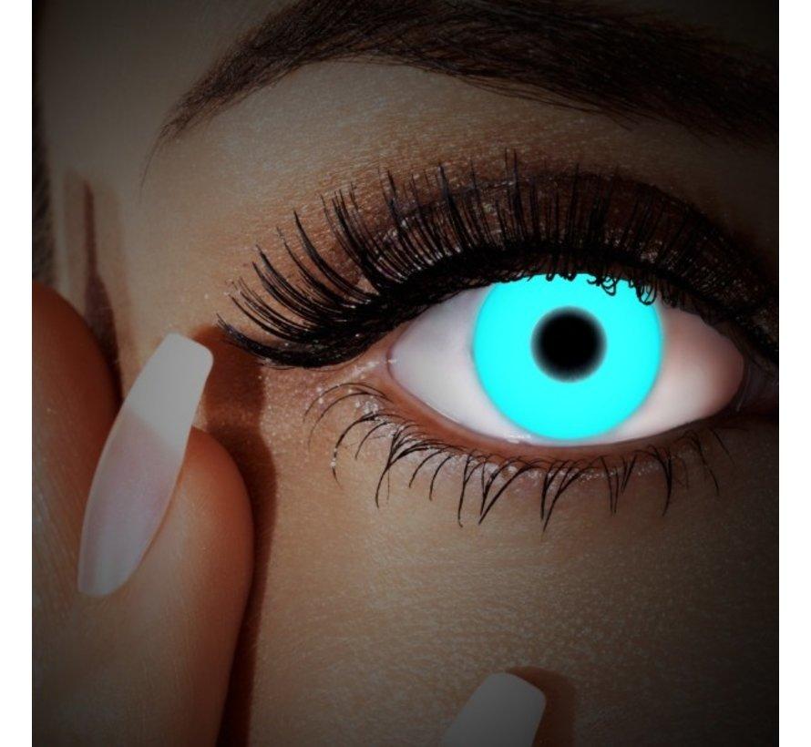 UV lentilles de couleur Blue | lentilles annuelles