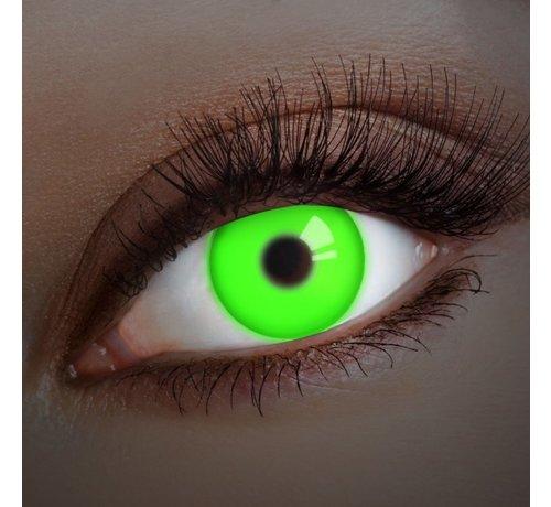 Aricona UV Groene Kleurlenzen | Jaarlenzen