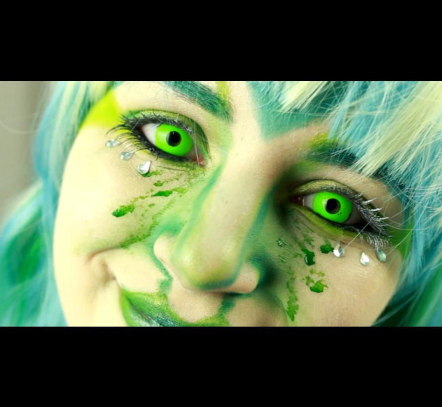 UV Groene Kleurlenzen | Jaarlenzen
