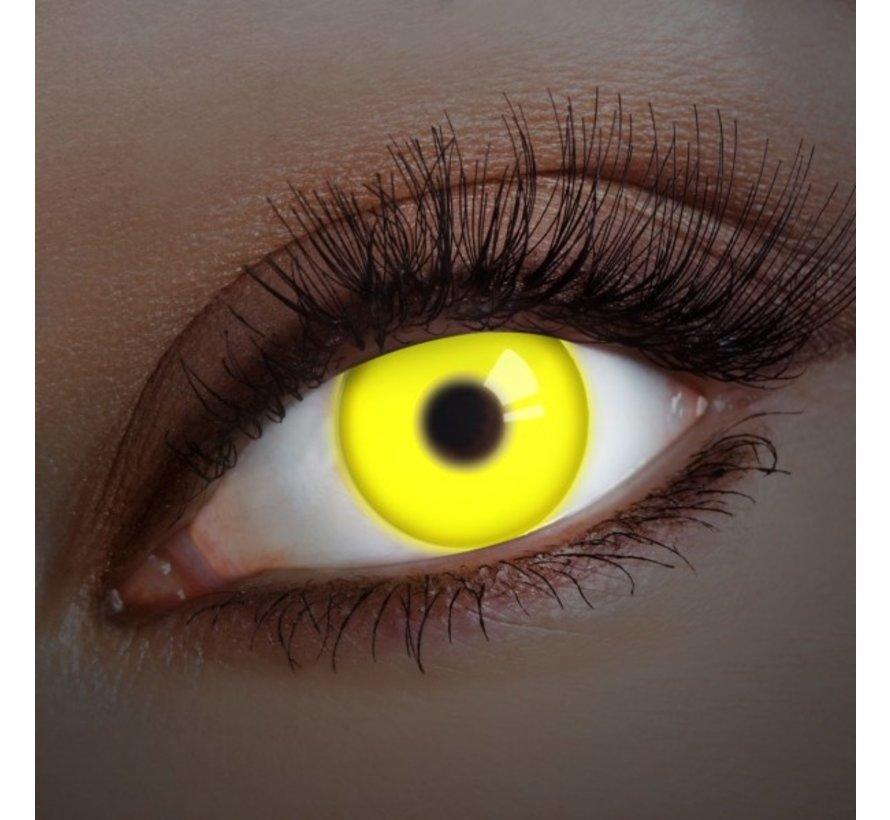 UV lentilles de couleur Jaune | lentilles annuelles