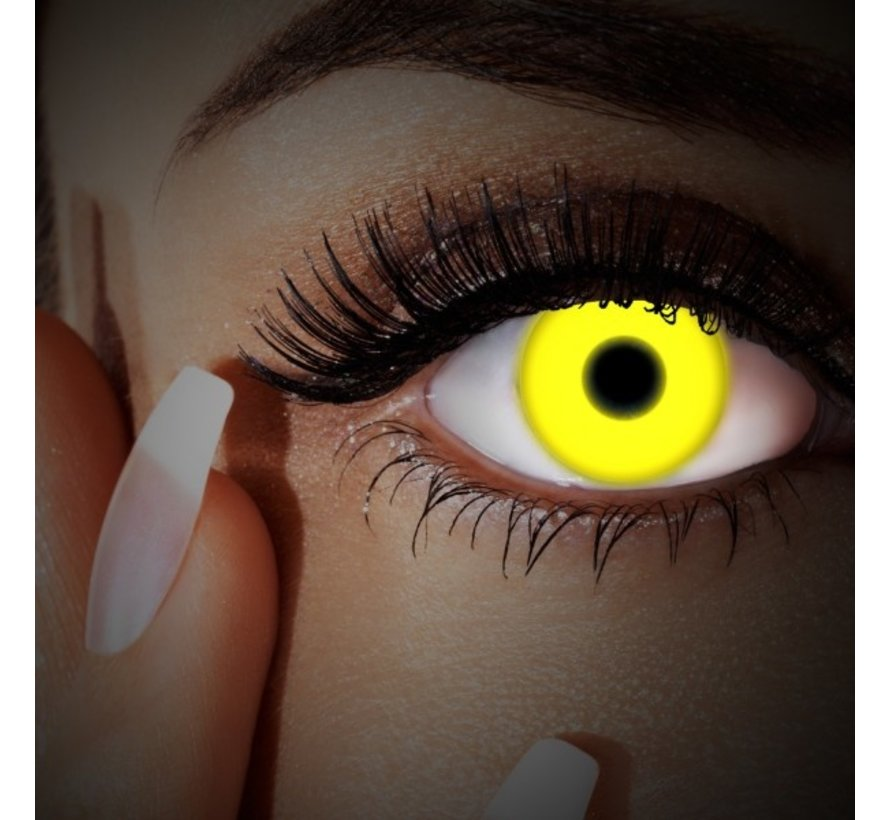UV Yellow Colorlens | annual lenses