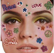 Zoelibat Tatouage autocollant visage | Peace in heaven