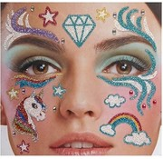 Zoelibat Face Tattoo Stickers | Unicorn Dreams