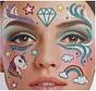Gezicht Tattoo Stickers | Unicorn Dreams