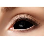 Partyline Black Sclera lenses 22 mm  | Black Lenses