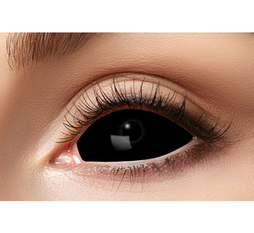Partyline Black Sclera lenzen 22 mm