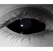 Breaklight.be Black Sclera lenses 22 mm  | Black Lenses