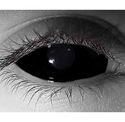 Breaklight.be Black Sclera lenzen-  22 mm - volledig zwarte lenzen