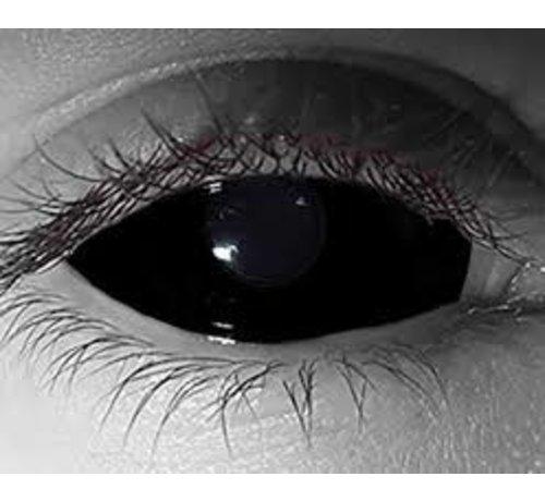 Breaklight.be Black Sclera lenses 22 mm