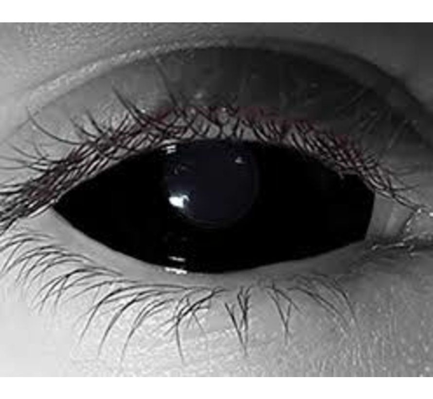 Black Sclera lenzen 22 mm