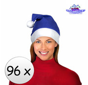 Breaklight.be 96 x Blauwe kerstmuts