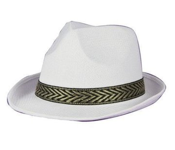 Partyline Hat Funk white
