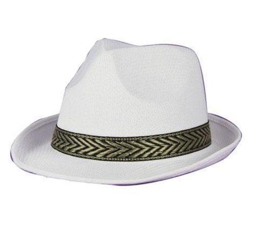 Partyline Hat Funk white