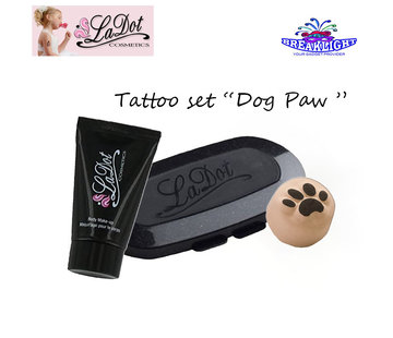 LaDot Cosmetics LaDot Tattoo Set |  Dog Paw