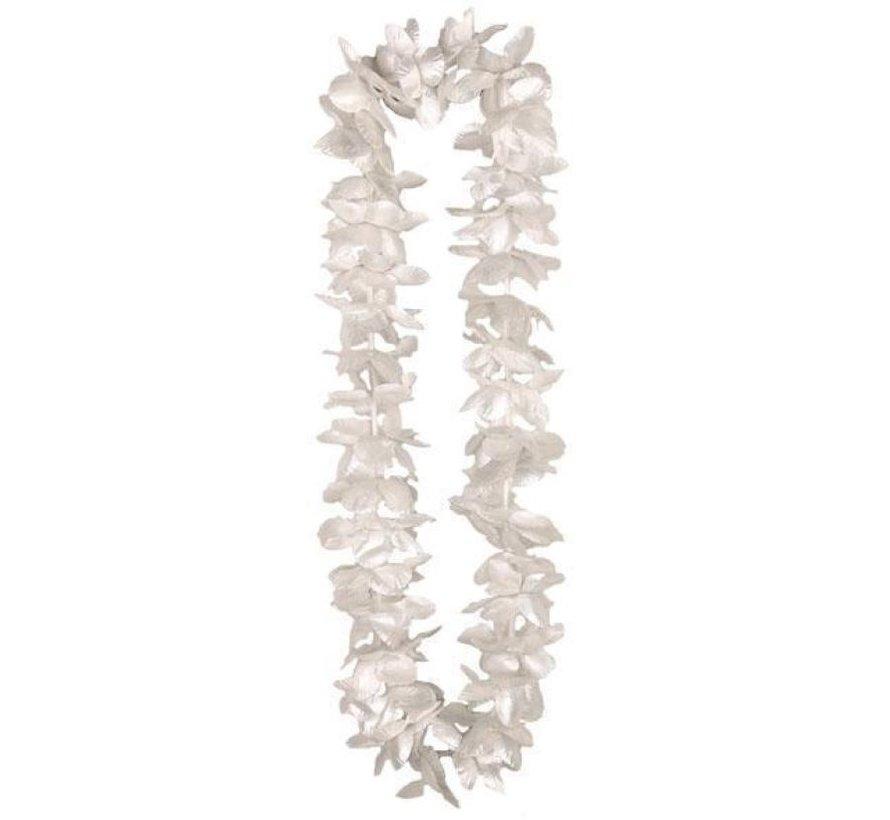 Hawai Necklace silver | Hawaiian Flower Garland
