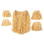 Partyline Raffia/Zulu Set Natural | | 5 piece set