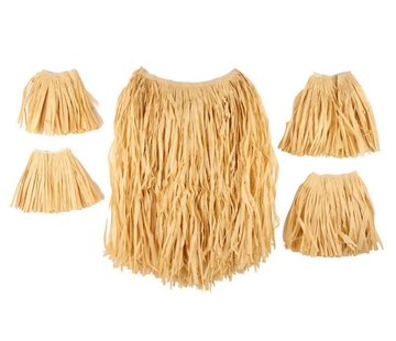 Partyline Raffia/Zulu Set Naturel 60cm | 5 delige set