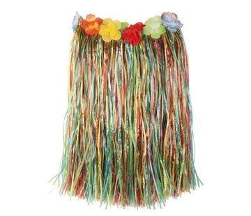 Partyline Raffia Jupe Multi + Fleurs 60cm