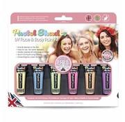 Love Shy Cosmetics Paintglow | Kit de peinture UV pour le visage et le corps pastel