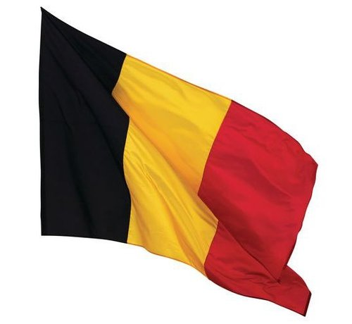 Funny Fashion Belgische Vlag  | Vlag 150 cm - 90 cm