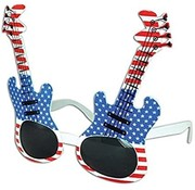 Partyline Glasses Guitar USA