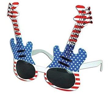 Partyline Glasses Guitar USA