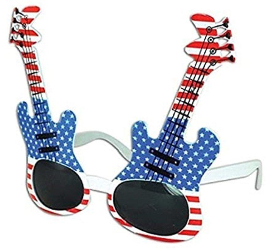 Glasses Guitar USA