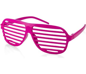Partyline Disco Party Glasses Screen Pink | Shutter Shade Pink