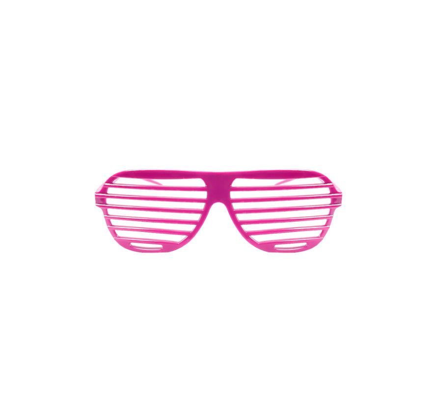 Disco Bril Screen Roze | Shutter Shade Roze