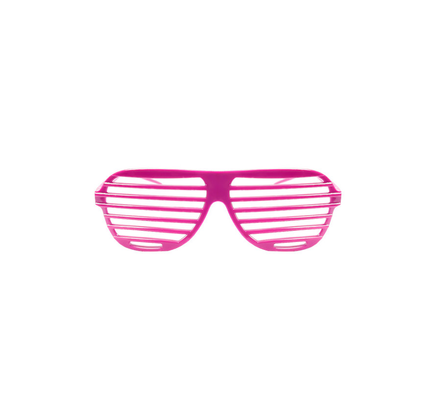 Disco Party Glasses Screen Pink | Shutter Shade Pink