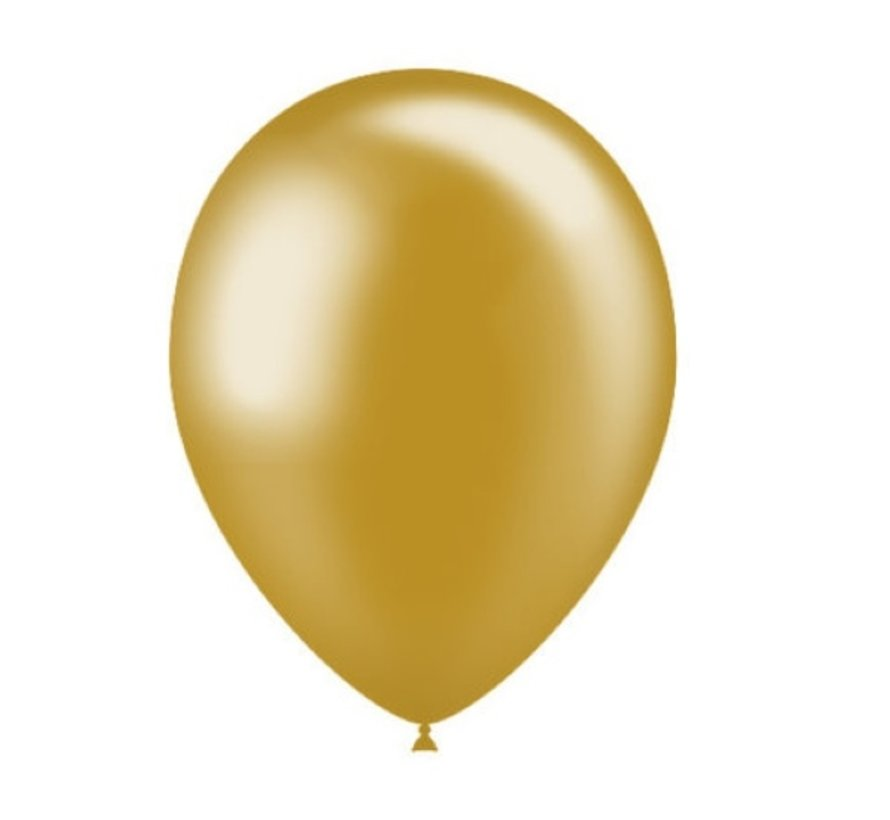 Gold Balloons - 50 pieces