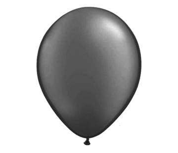 Qualitex Balloon Silver Balloons - 50 pieces
