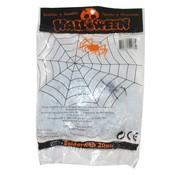 Funny Fashion Toile d'araignée blanche 20 g + spin | Déco Halloween
