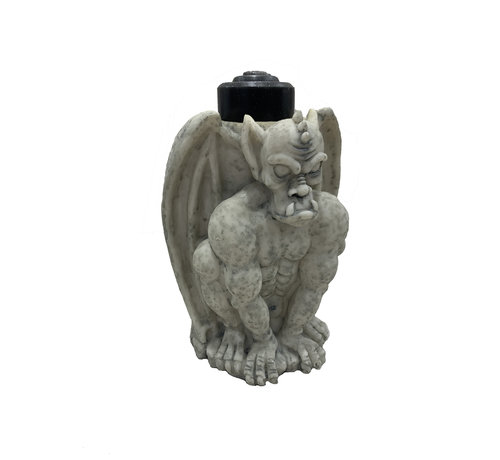 Funny Fashion Gothic Candle holder | Candle included | Halloween deco
