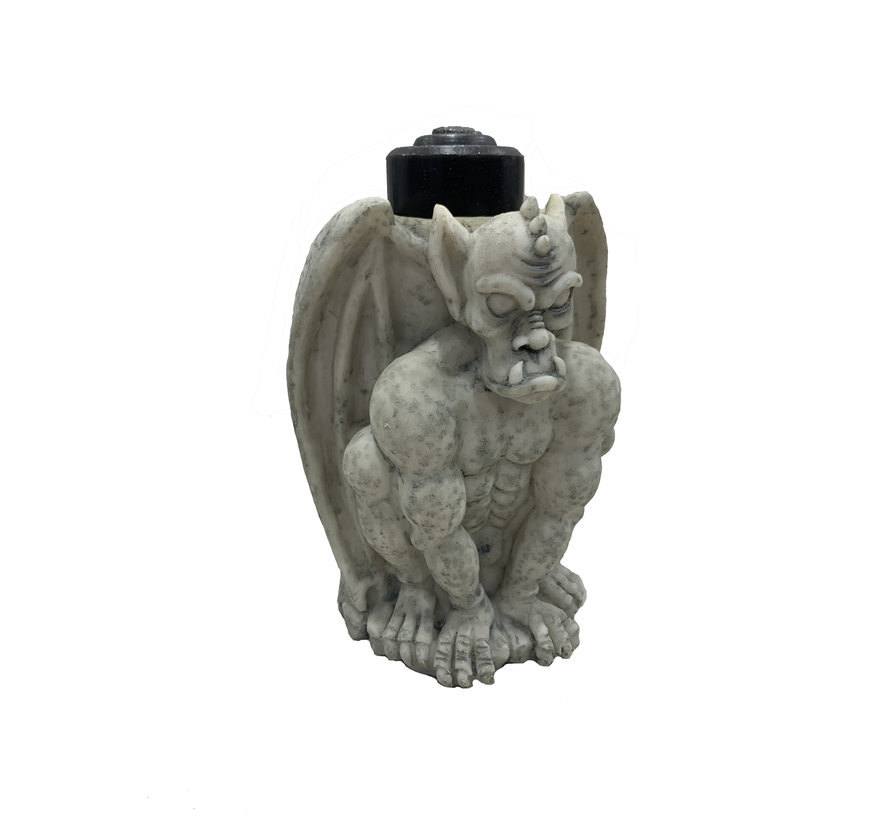 Gothic Candle holder | Candle included | Halloween deco