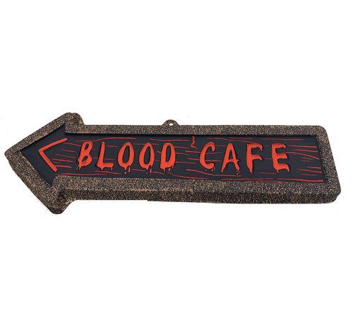 Partyline Deco Plate  Arrow   Blood Cafe