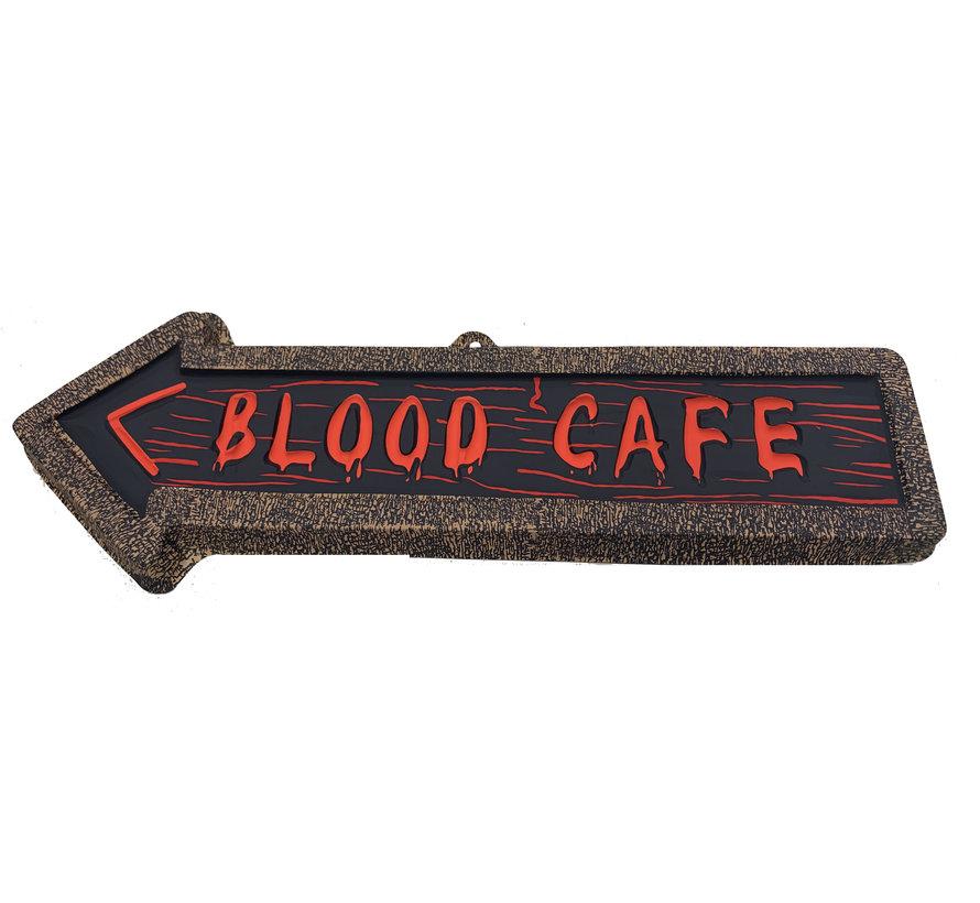 Deco Plate  Arrow   Blood Cafe