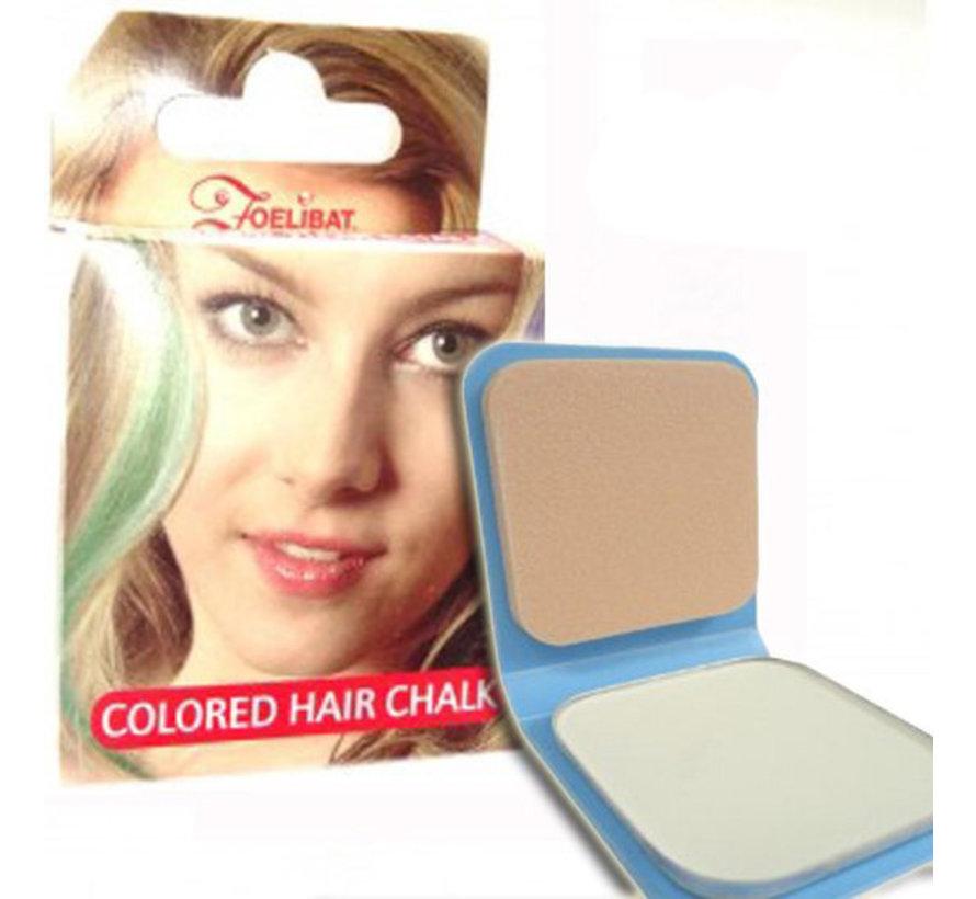 Haarkrijt   Wit haarkrijt ( 6 g )