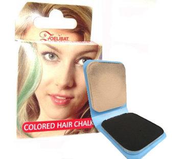 Zoelibat Haarkrijt   Zwart haarkrijt ( 6 g )