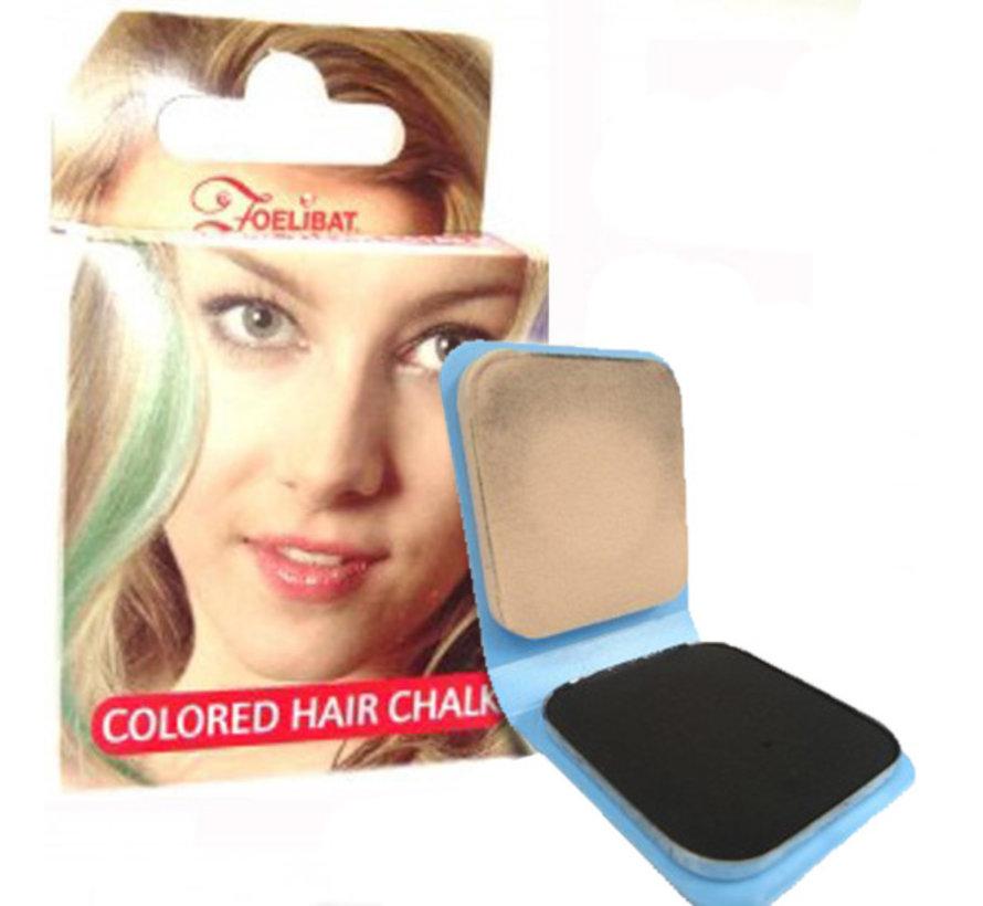 Haarkrijt | Zwart haarkrijt ( 6 g )