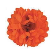 Funny Fashion Neon Oranje Haarclip Bloem | Oranje Haarclip