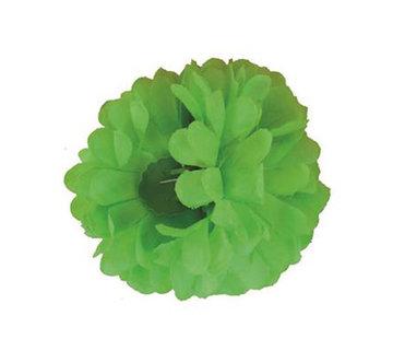 Funny Fashion Pince à cheveux vert fluo Fleur   Pince à cheveux vert