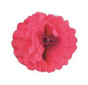 Funny Fashion Pince à cheveux rose fluo Fleur | Pince à cheveux rose