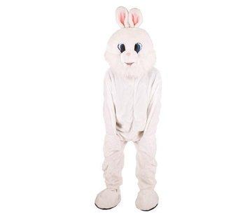 Partyline Costume Lapin Blanc en Peluche | Costume de mascotte