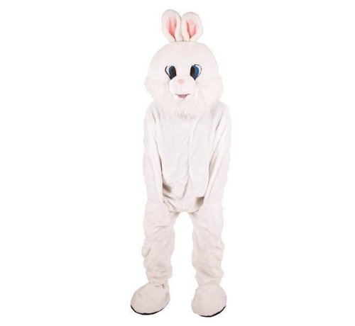 Partyline Costume Plush White Rabbit | Mascot Costume