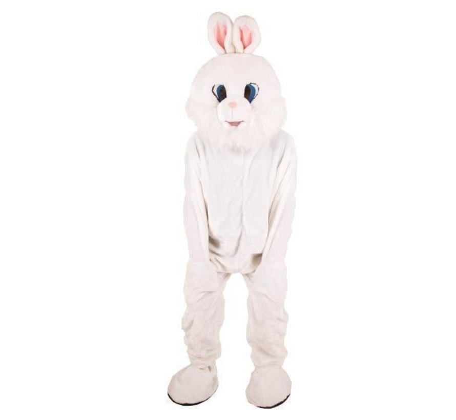 Costume Plush White Rabbit | Mascot Costume