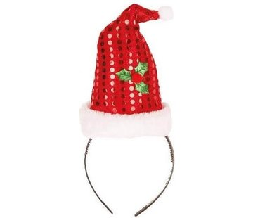 Partyline 12 bonnets de Noël sur diadème | Promo paquet de Noël