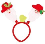 Partyline 12 lumineux Père Noël sur diadème | Promo paquet de Noël