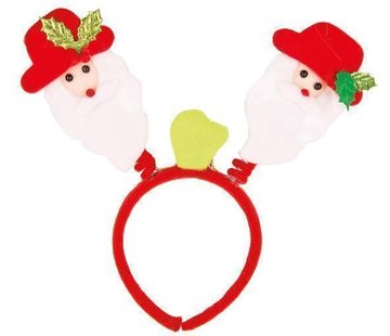 Partyline 12 Santa Claus on diadem with light | Christmas bundle Pack